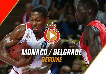 EuroCup — Monaco 63 - 66 Belgrade — Highlights