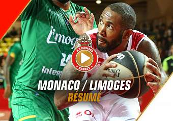 CDF — Monaco 62 - 59 Limoges — Highlights