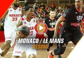 Jeep Elite — Monaco 82 - 65 Le Mans — Highlights