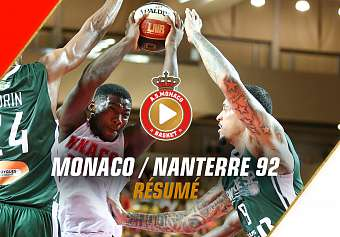 Jeep Elite — Monaco 75 - 63 Nanterre 92 — Highlights
