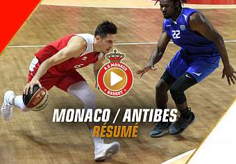 AMICAL — Monaco 74-73 Antibes — Highlights
